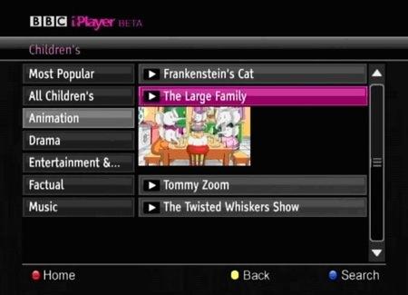iPlayer on Freesat