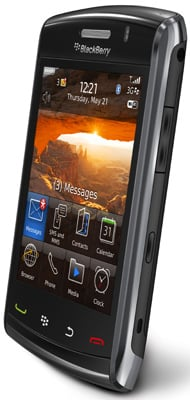 Blackberry Storm 2 9520 touchscreen smartphone • The Register