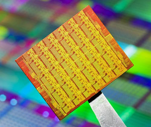 Intel Single-chip Cloud Computer die