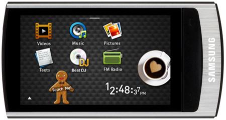 Samsung YP-R1 16GB PMP