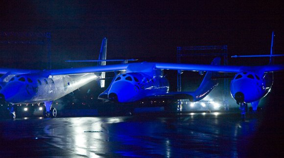 The SS2 roll-out. Pic: Virgin Galactic