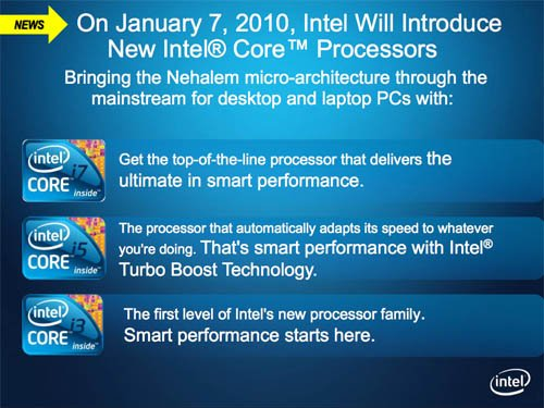 Intel Core family of desktop and mobile processors