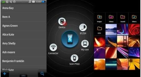 Samsung Bada UI