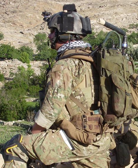 A member of a US Special Forces 'A team' wearing Multicam in Afghanistan's Shok Valley last year. Credit: US Army