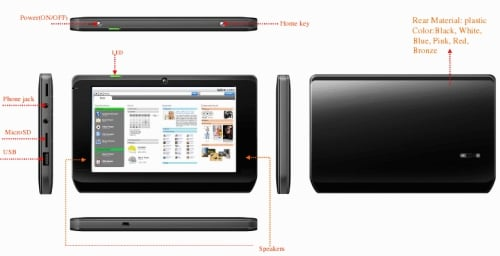 Freescale tablet reference