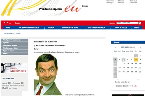 Screenshot of Mr. Bean