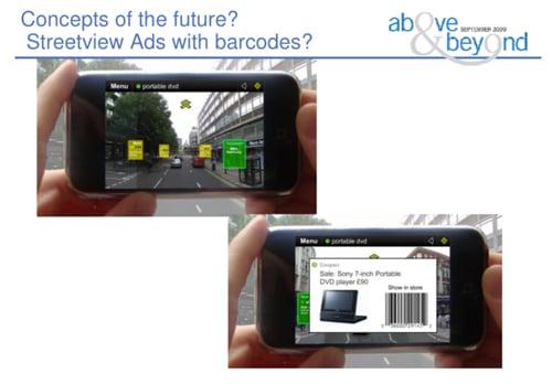 Google Street View ads