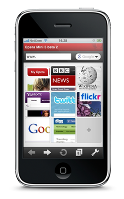 Opera Mini for Jesus Phone