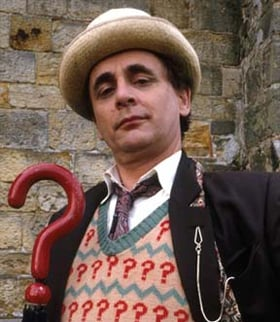 Sylvester McCoy as Doctor Who. Pic: BBC