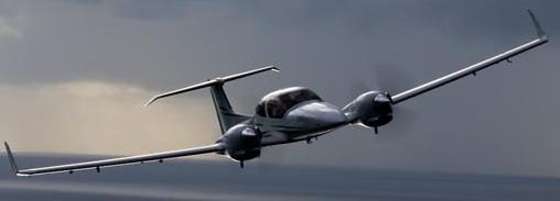 The DA42 Twin Star. Credit: Diamond Aircraft