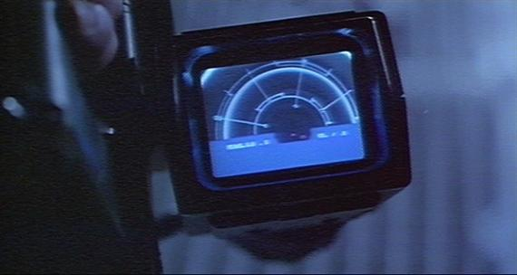 The motion tracker as favoured by the US Colonial Marines. Sees through ceilings too.