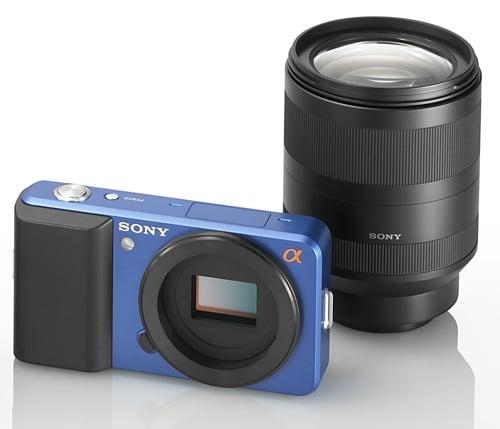 Sony compact Alpha concept