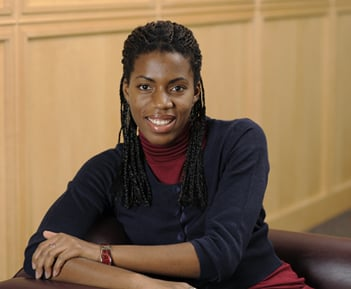 Sanna Gaspard, New Face of Engineering 2010 as nominated by the IEEE. Credit: Carnegie Mellon