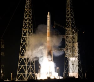 The launch of GOES-P. Pic: NASA/Kenny Allen
