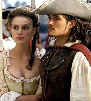 Keira Knightley and Orlando Bloom. Pic: Buena Vista