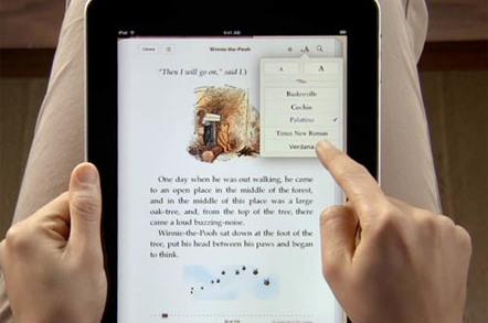 iPad iBooks app