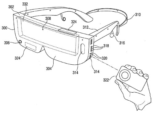 Apple head-mounted display patent