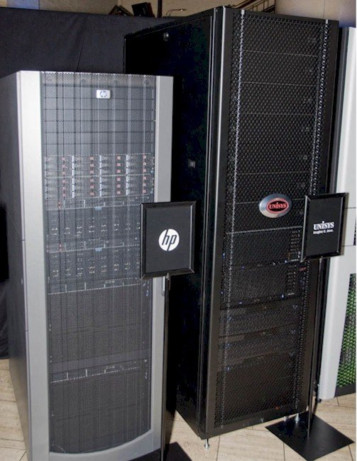 HP Nehalem EX Rack