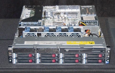HP ProLiant Nehalem EX Server