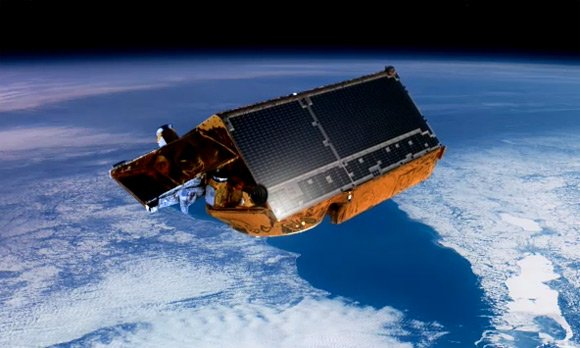 Artist's impression of Cryosat-2 in orbit. Pic: ESA
