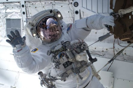 Clayton Anderson, STS-131 mission specialist. Pic: NASA