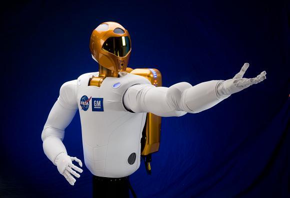 The R2 robot from NASA and GM. Credit: NASA