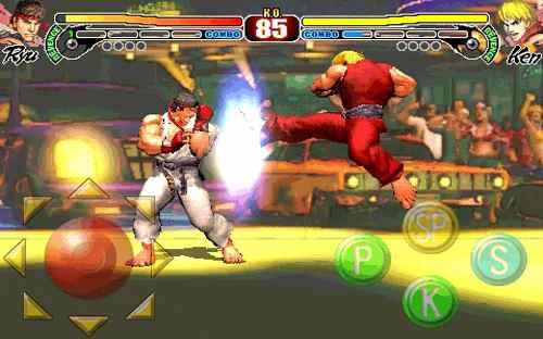Streetfighter IV iphone screenshot