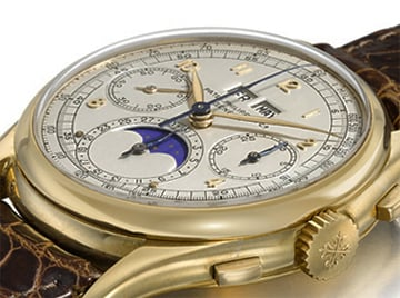 The Patek Philippe watch sold yesterday