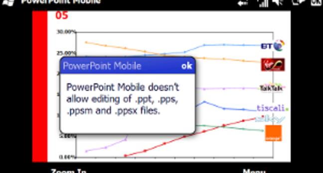 PowerPoint screen shot