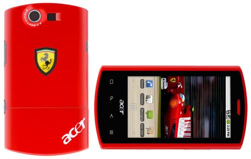 Acer Ferrari Liquid E Smartphone
