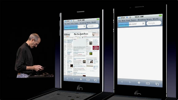Steve Jobs' WWDC keynote presentation