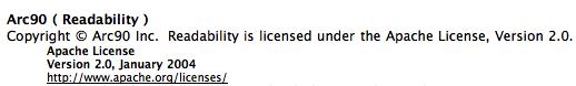 Safari acknowledges Arc90