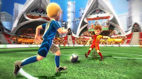 Microsoft Kinect football game