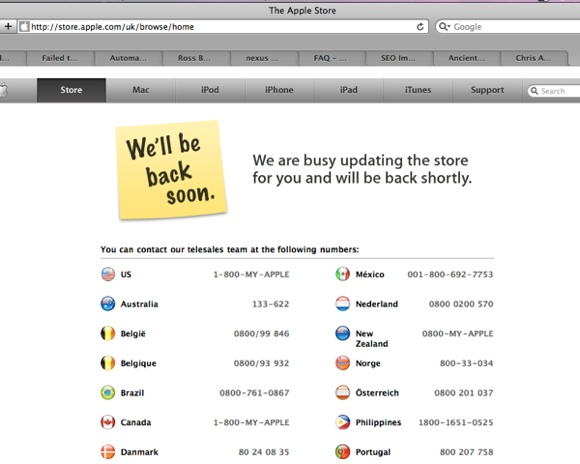 apple store alternative error