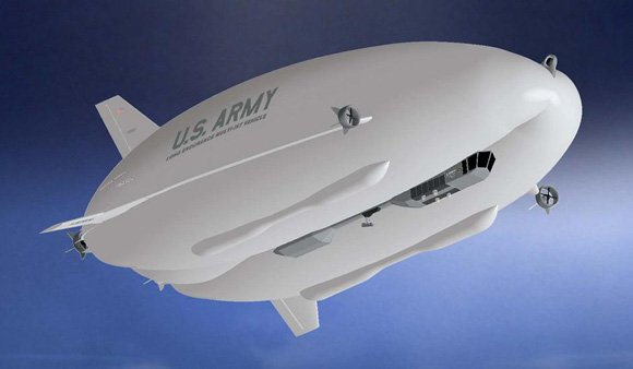 The LEMV airship to be built for the US Army. Credit: Northrop/HAV