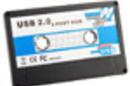 USB Cassette 4-Port Hub