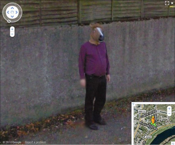 Horse boy as seen on Street View