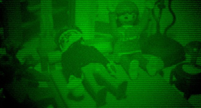 Our night-vision image of the average middle-aged sex session