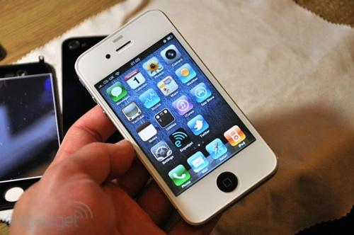 DIY white iPhone 4