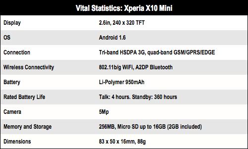 Xperia X10 Mini