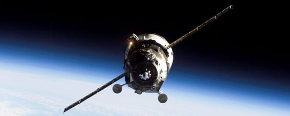 Progress 38 approaches the ISS. Pic: NASA