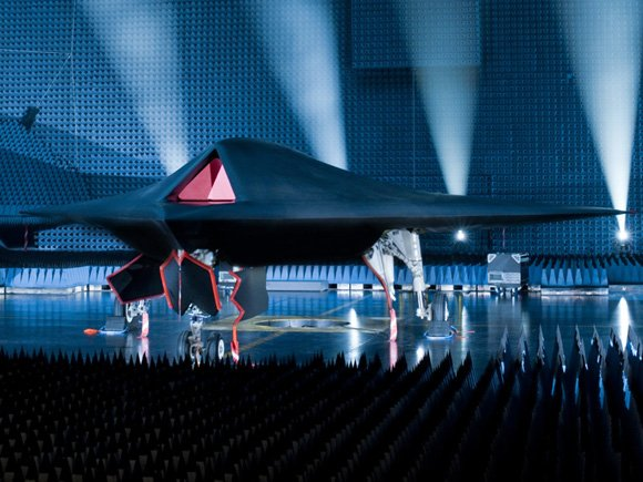 The Taranis UCAV at its rollout ceremony. Credit: BAE Systems