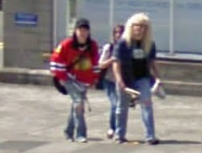 Wayne and Garth as seen on Street View