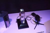 BAE Systems' wireless through-hull comms demo at Farnborough 2010.