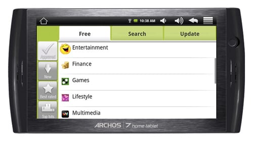 Archos 7 Android Home Tablet