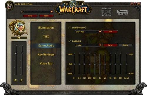 Creative World of Warcraft headphones