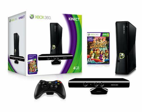 Xbox 4GB Bundle group shot