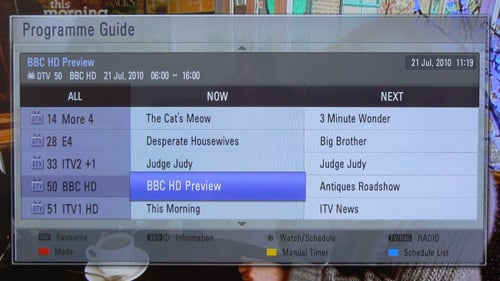 how to set up freeview on lg tv