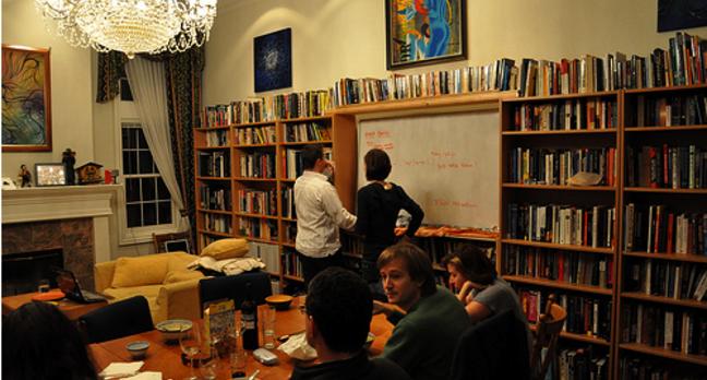 Rainbow Mansion library