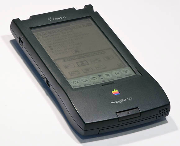 Newton MessagePad 120 - open